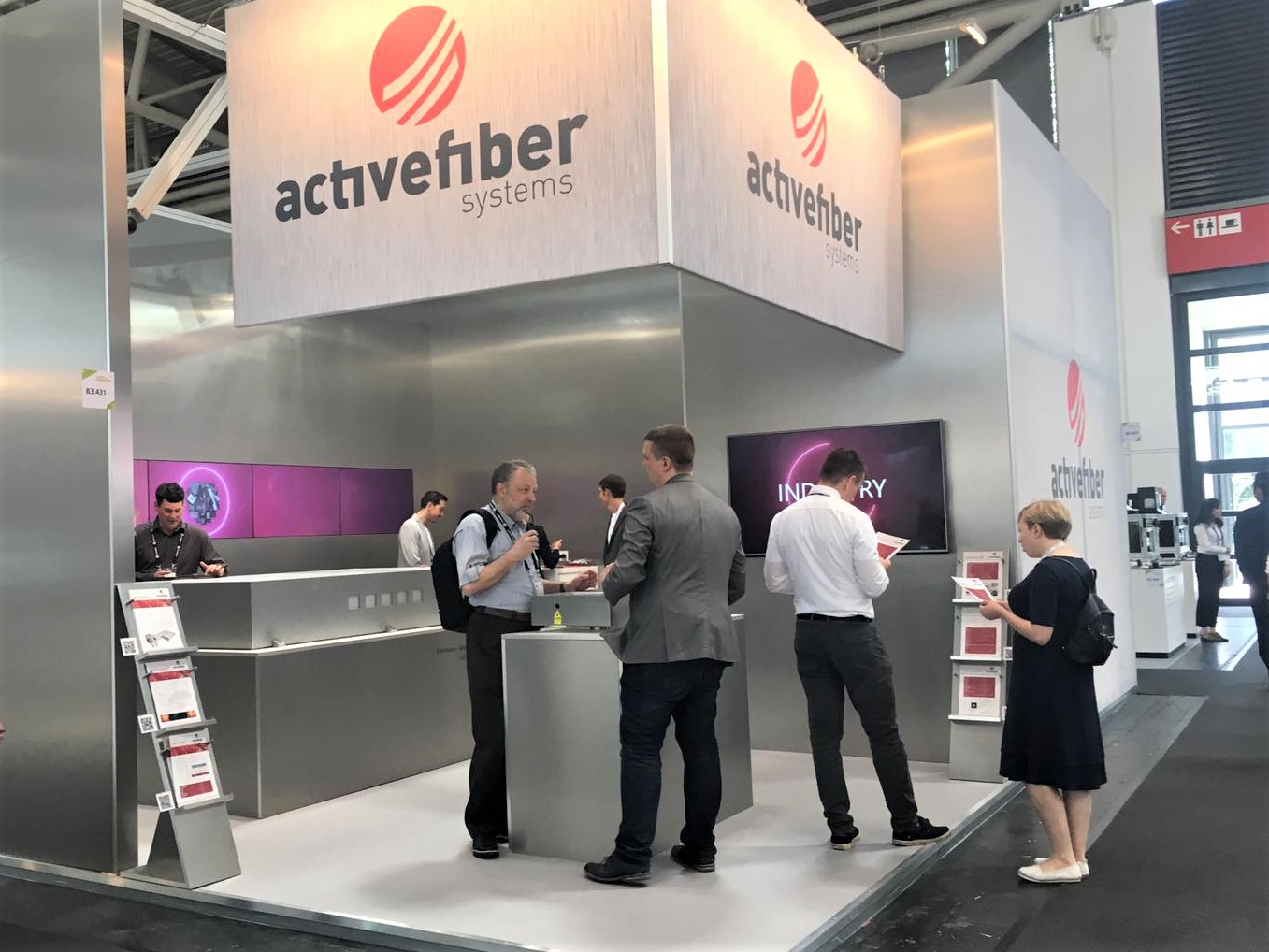 TOF Allianz Auf Der LASER World Of PHOTONICS 2019